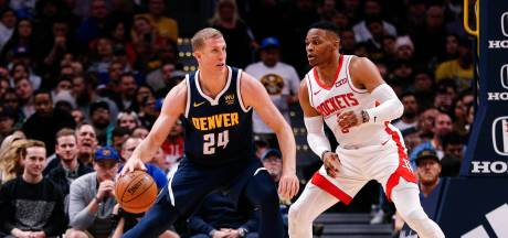 Zegereeks Houston Rockets eindigt in Denver