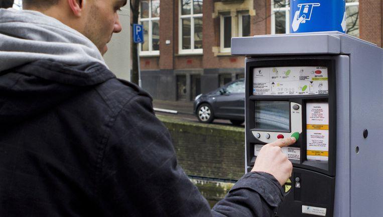 De investering in West wordt voor een deel betaald uit verhoging van de parkeertarieven. Foto ANP Beeld