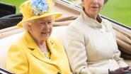 Queen Elizabeth zet dochter prinses Anne in de bloemetjes