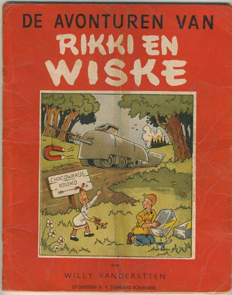 De eerste Suske en Wiske - toen nog Rikki en Wiske. Beeld null