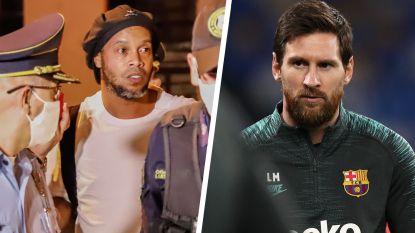 Messi blijft zich ergeren: geruchten over borgsom Ronaldinho en transfer naar Inter lokken scherpe reactie uit