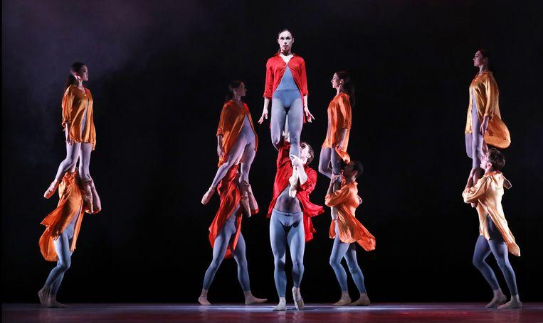 Ignite, choreografie van Juanjo Arqués, door Het Nationale Ballet Beeld Hans Gerritsen