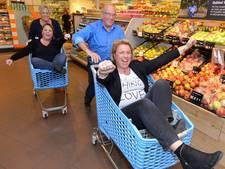 Supermarktechtpaar: 50 jaar geopend en 50 jaar getrouwd