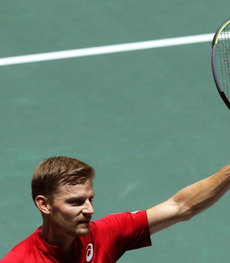 België opent Davis Cup Finals met zege