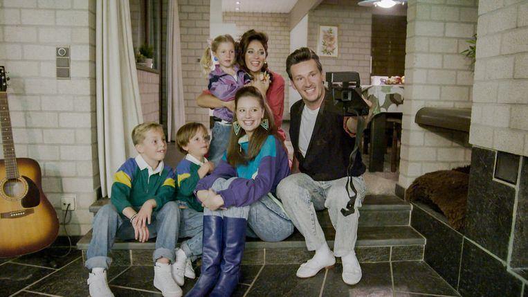 Groeten uit: Davy Gilles en zijn gezin.