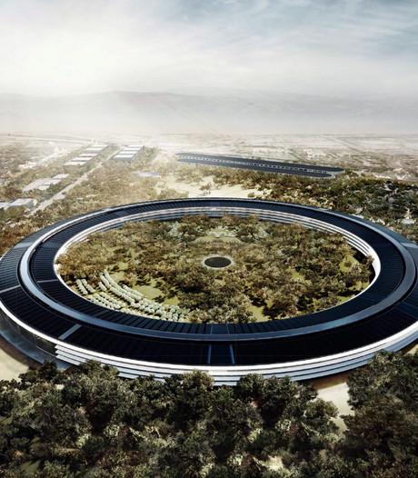 Nieuw kantoor Apple opent in april, theater vernoemd naar Steve Jobs