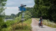 Jaagpad langs Schelde tot het einde van de zomervakantie weer open tussen Wetteren en Melle
