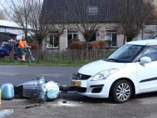 Scooterrijder gewond bij botsing op Haarmanweg in Terneuzen