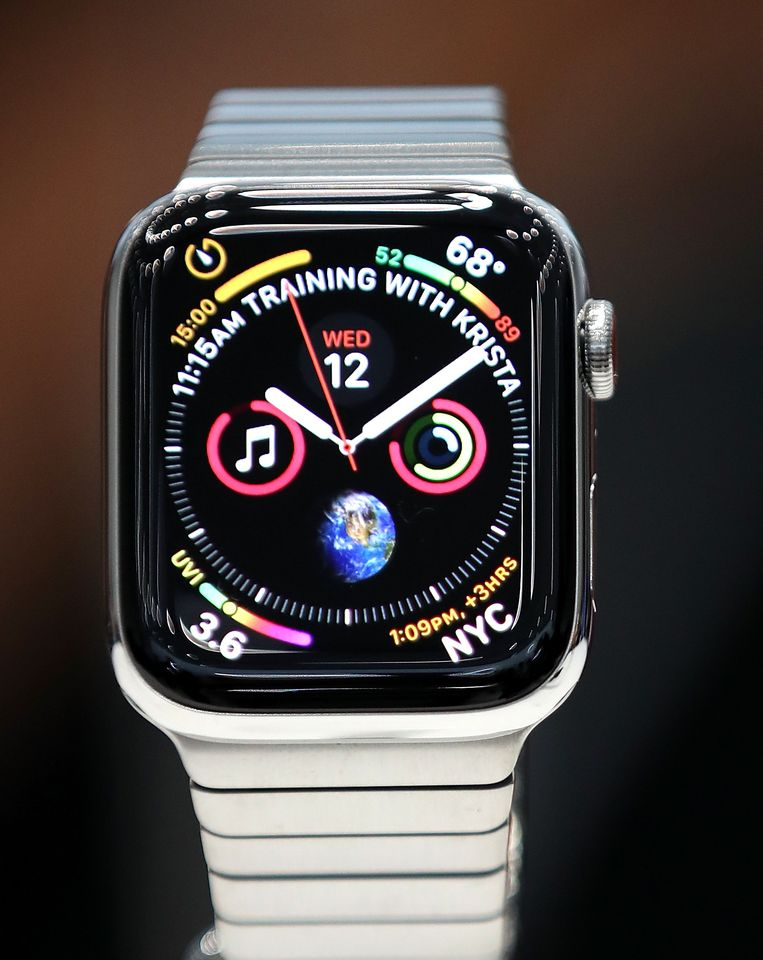De nieuwe Apple Watch Series 4.
