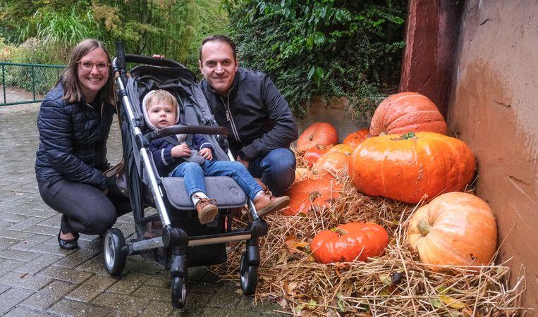 Shannon Coopman uit Kortrijk trok samen met haar zoontje Marisse Gaspard en een vriend, Torsten Moerman, naar Bellewaerde.