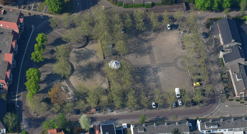 Willem-Alexanderplein in Teteringen