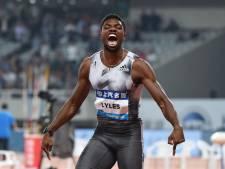 Toptalent Lyles loopt snelste 100 meter dit jaar