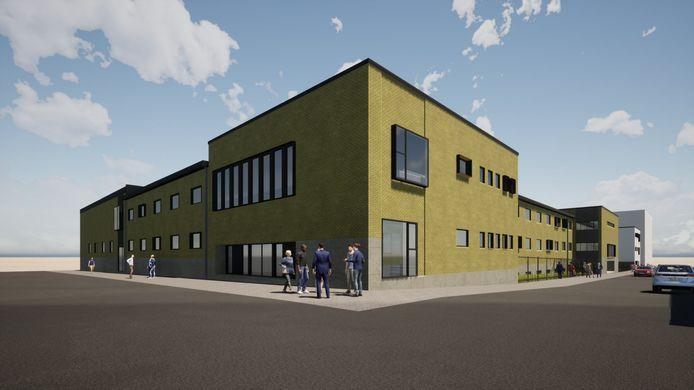 La nouvelle école Cobaux à Charleroi devrait ressembler à ça.