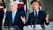 Macron schaart zich achter Merkel: backstop-bal in het Britse kamp