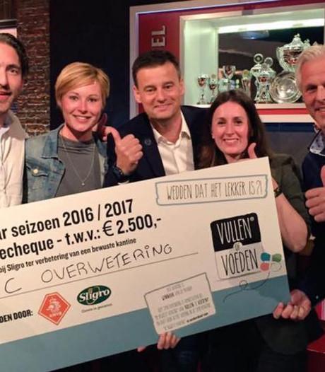 Gezonde kantine SC Overwetering is beste van Nederland