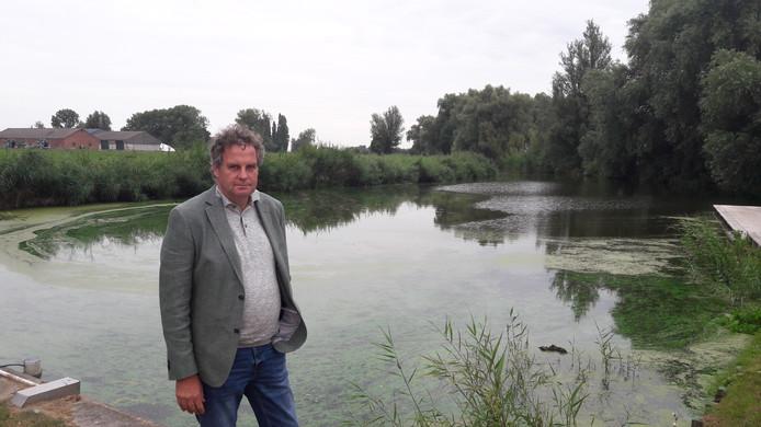 Arthur Meuleman bij Blauwe Sluis in Steenbergen.