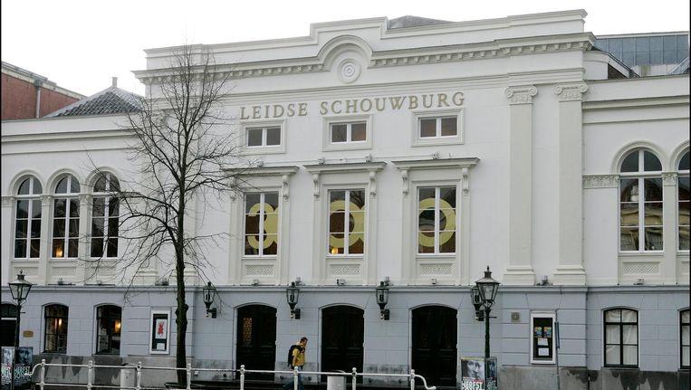 De schouwburg in Leiden, waar jaarlijk het Leids cabaretfestival wordt gehouden. Beeld anp