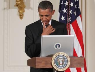 """Obama roept uit dat hij """"een meestertwitteraar"""" is"""