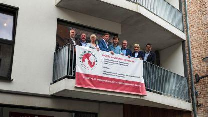 Project Blauwstraat 61 officieel ingehuldigd