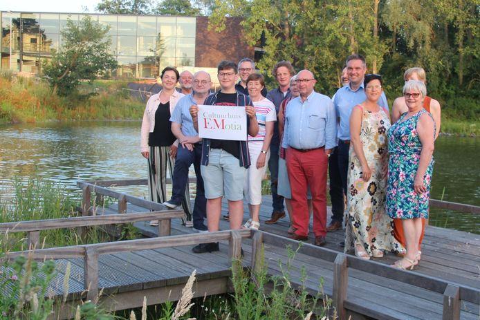 Sam Van Cauter bedacht de naam voor het nieuwe Cultuurhuis EMotia in Erpe-Mere.