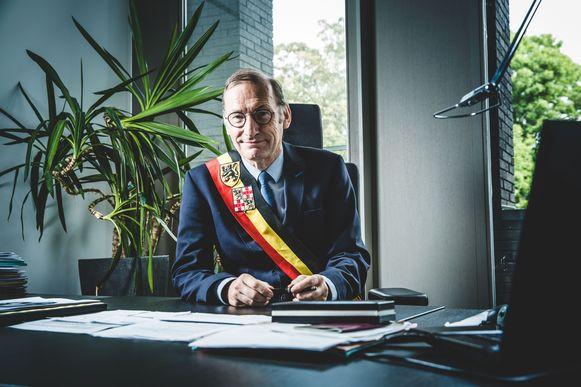 Burgemeester Philippe De Coninck.