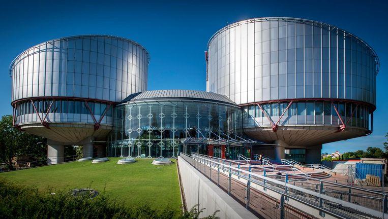 Het Europees Hof voor de Rechten van de Mens in Straatsburg Beeld anp