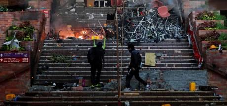Studente Isabel (19) met spoed weg uit Hongkong: 'Prachtige campus helemaal verwoest'