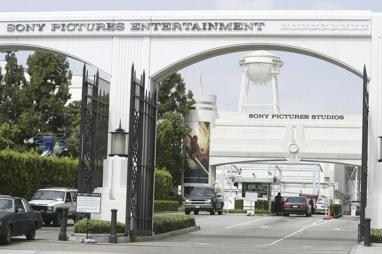 Het hoofdkantoor van Sony in Culver City, California. Beeld epa