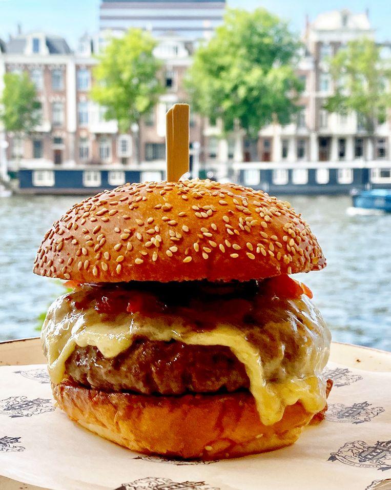 Hamburger Amstel Hotel. Beeld Mara Grimm