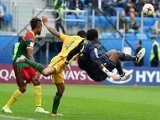Kameroen en Australië houden elkaar in evenwicht