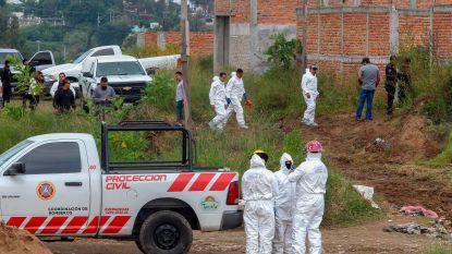 Zeker negentien lichamen gevonden in massagraf in Mexico