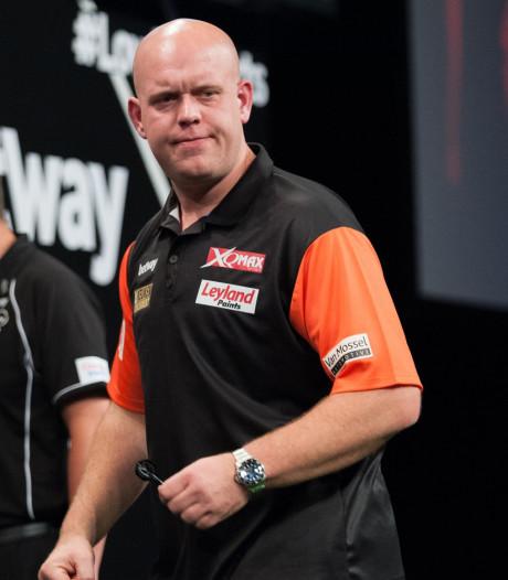 Van Gerwen wint Gibraltar Darts Trophy