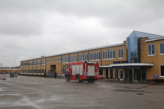 Brand bij Struik Foods Nijkerk