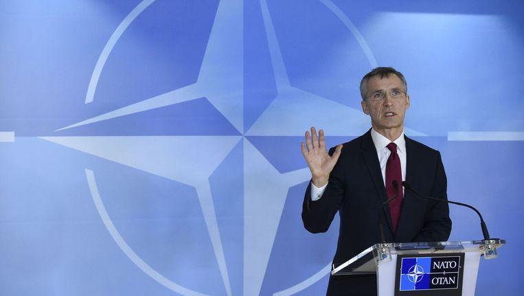 NAVO-secretaris-generaal, Jens Stoltenberg.