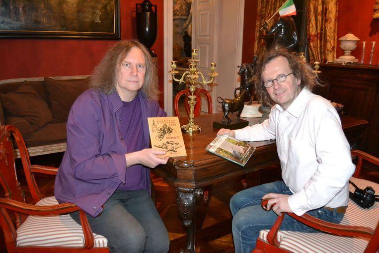 Johan Noppen en Berten Steenwegen brengen ook een fotodichtboek op de markt.