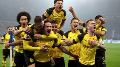 Ook rivaal Schalke 04 kan Dortmund en Witsel in beladen Kohlenpott-derby niet van de wijs brengen: toptalent Sancho bezorgt Borussen volle buit