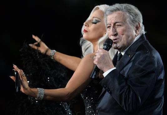 Lady Gaga en Tony Bennett.