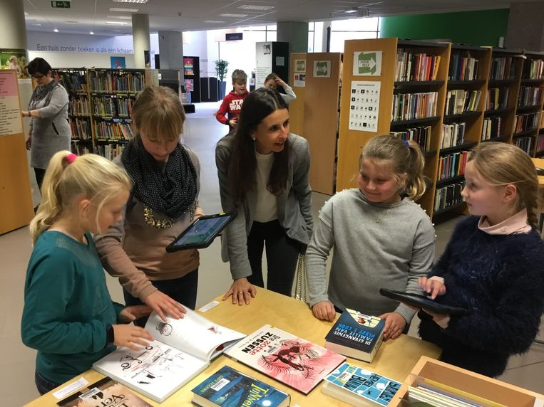 Nog tot 31 maart is het Jeugdboekenmaand in de bibliotheek van Tongeren