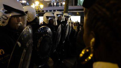 IN BEELD: Betoging mondt uit in rellen in Brussel