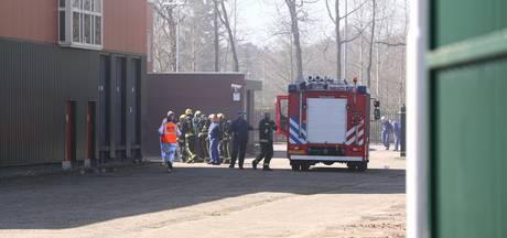 Brand bij Plukon in Wezep