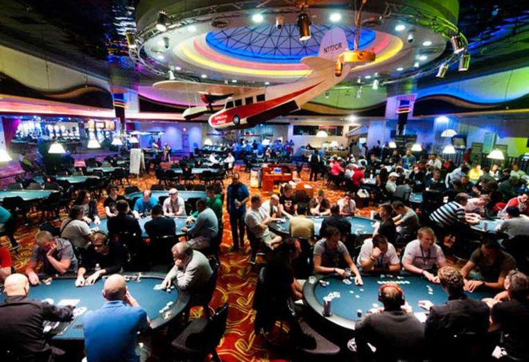 Het Casino Royale,  het grootste gokpaleis van Sint Maarten. Beeld