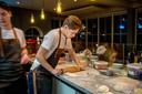 De open keuken van restaurant Grano in Plasmolen.