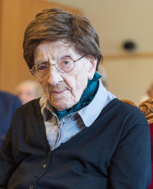 Antonia Nouwens overleed op 108-jarige leeftijd.