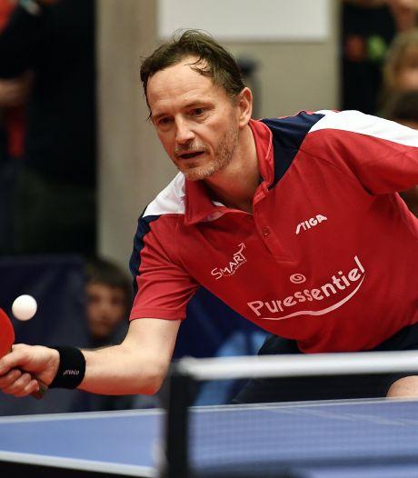 Tafeltennisicoon Saive wil olympische baas België worden