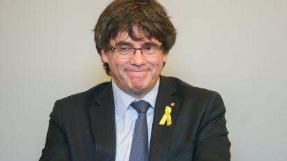 """Puigdemont: """"In val van Spaanse regering getrapt"""" maar """"bereid naar gevangenis te gaan als België me uitlevert"""""""