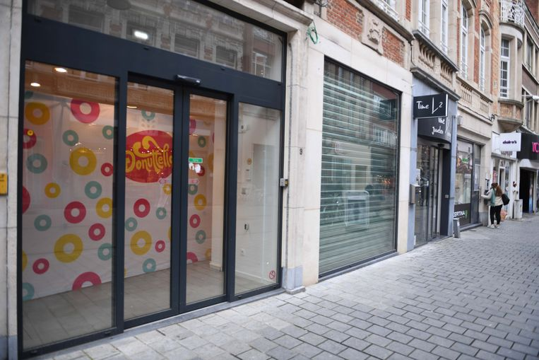 Nog enkele dagen wachten en pop-up Donuttello opent de deuren in de Diestsestraat in Leuven.
