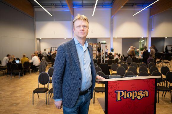 Steve Van den Kerkhof, CEO van Plopsa, in Technopolis.