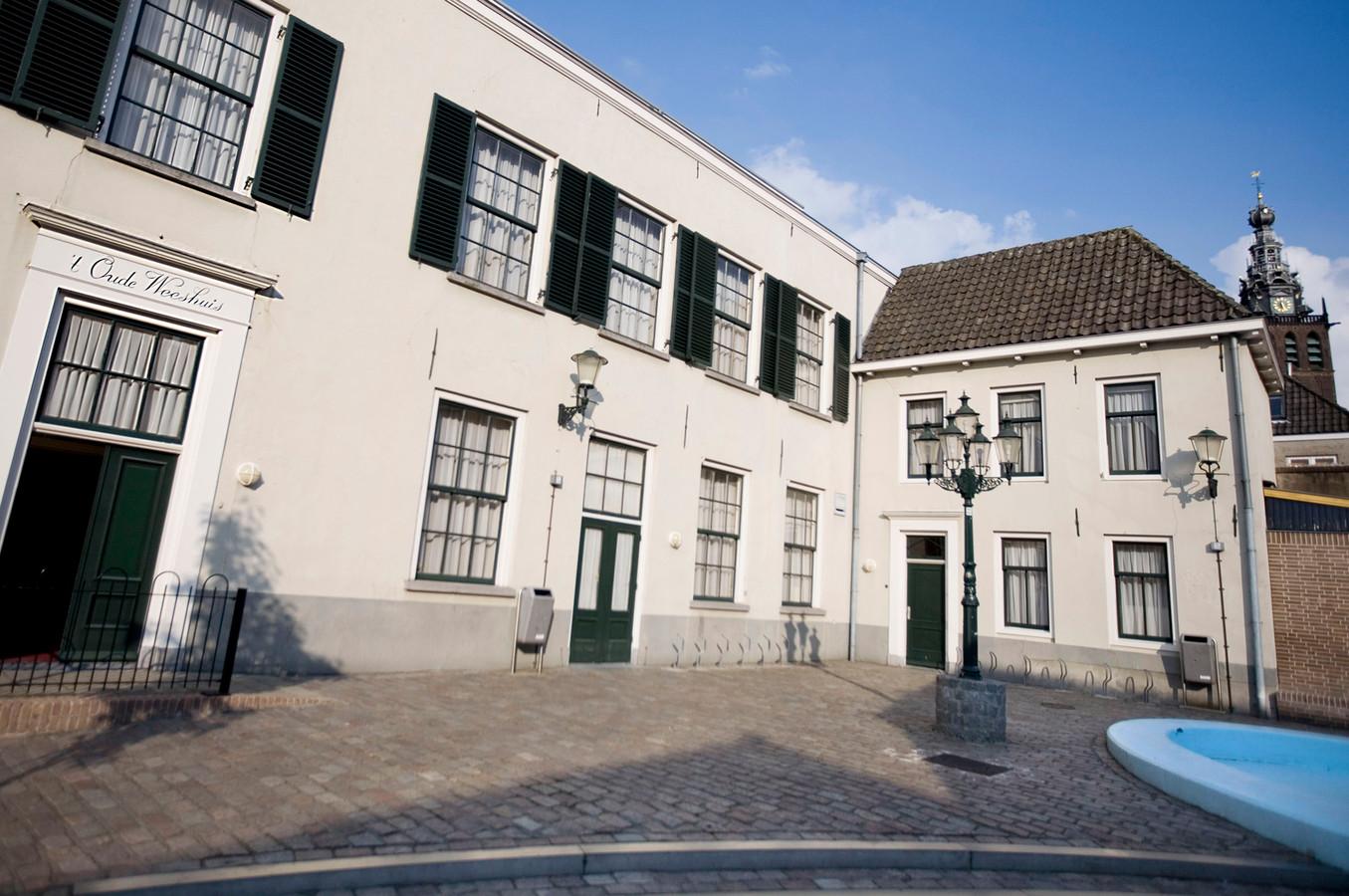 Een oud gebouw in de Benedenstad, dat er nog steeds staat.