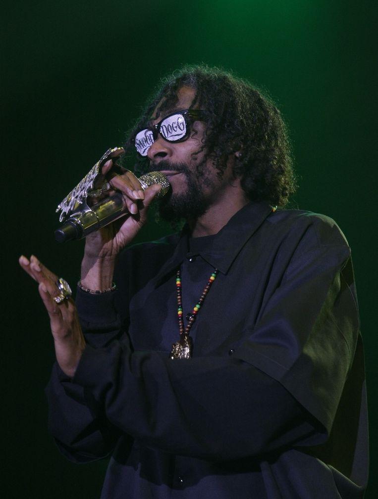 Snoop Dogg Beeld afp