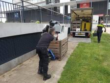 Nijmeegse wietkweker laat deur open staan voor de politie